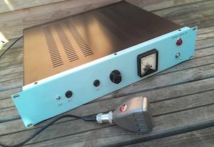 Vintage Microphone Amplifier