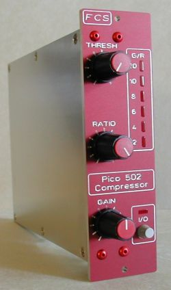 Pico 502 Mono Compressor w/Cinemag Transformer