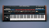 Juno 6 synthesizer