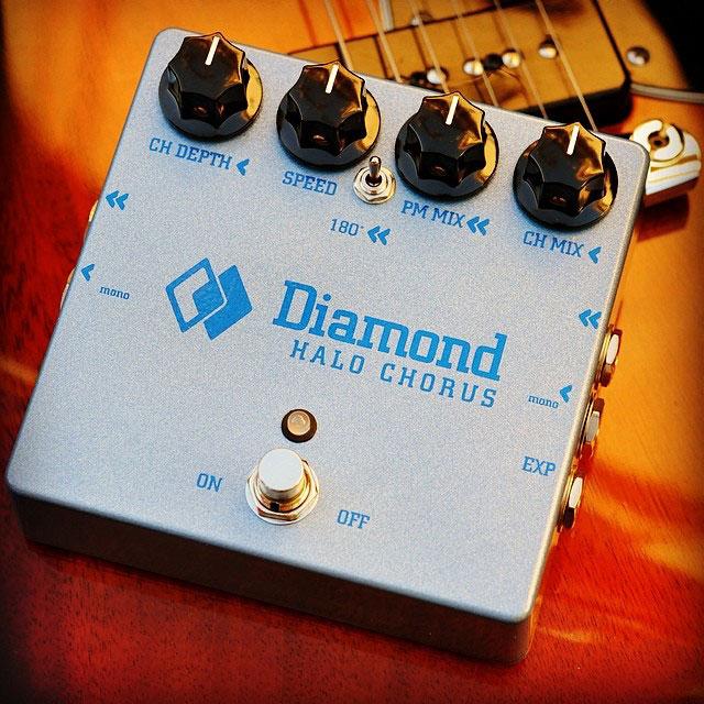 Diamond Pedals Halo Chorus Pedal