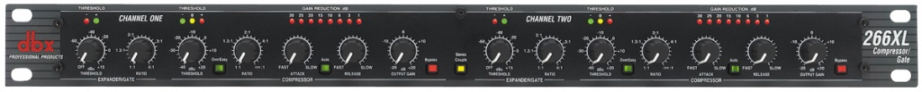 DBX 266XL two channel compressor/gate