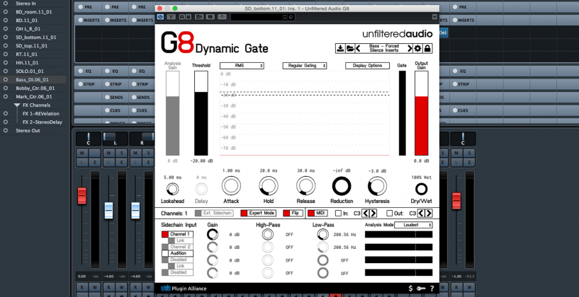 Unfiltered Audio G8 Dynamic Gate