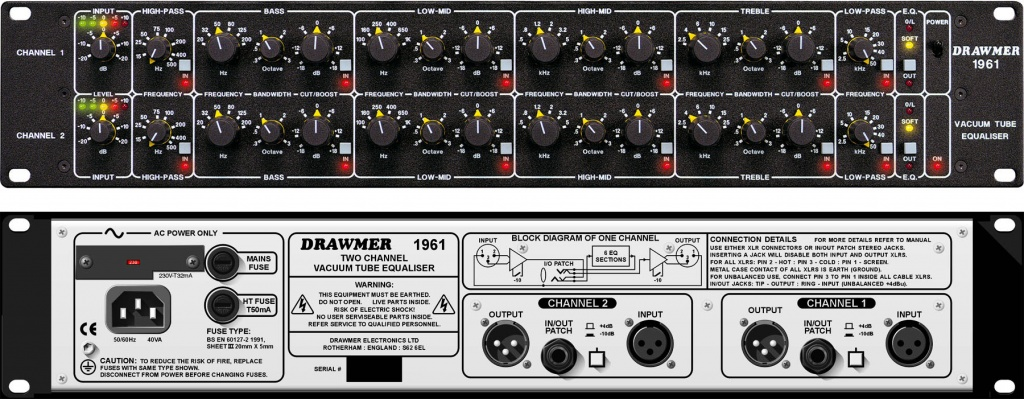 DRAWMER 1961 Tube EQ