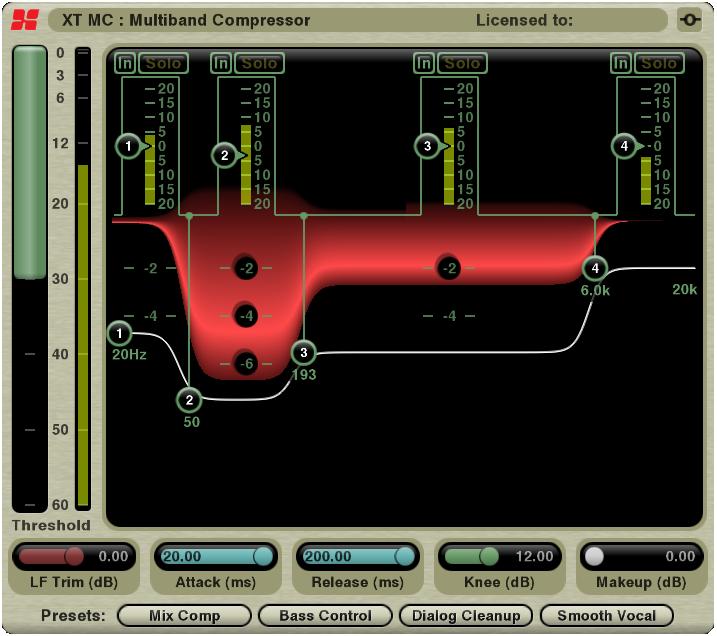 XT-MC Multi-Band Compressor
