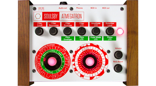 Soulsby Synthesizers Atmegatron