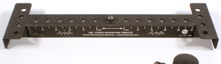 Stereo Microphone Template Bar (SMT-2)