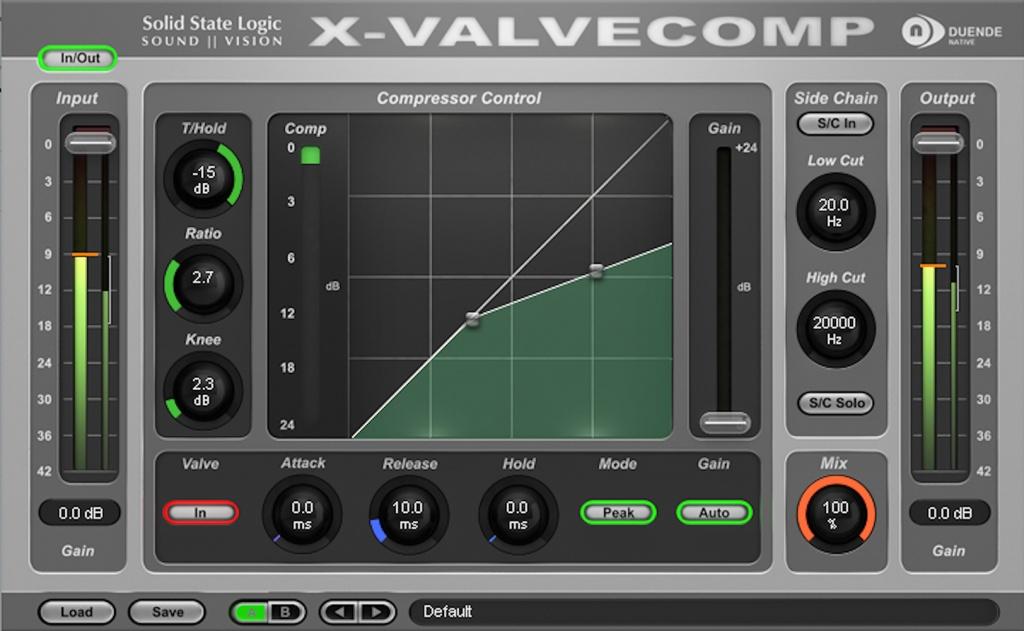 Duende X-ValveComp