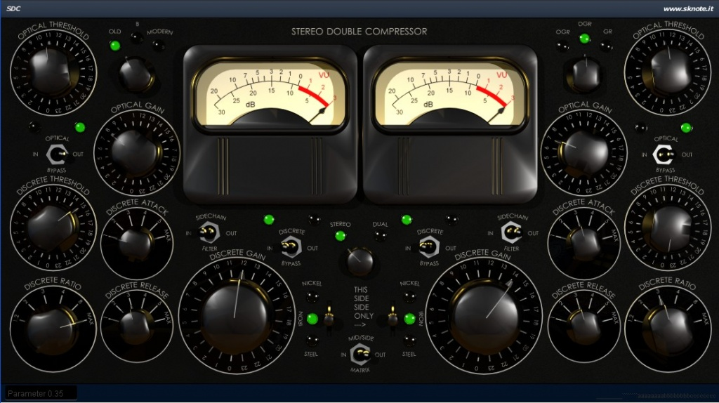 SDC - Stereo Double Compressor