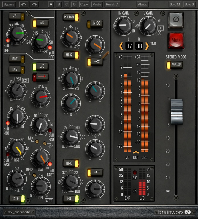 Plugin Alliance Brainworx bx_console N