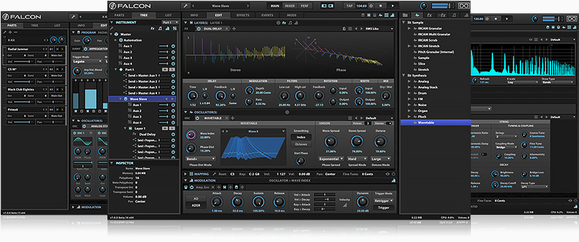 UVI Sounds & Software Falcon