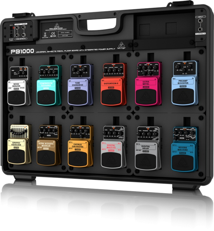 Behringer Pedal Board PB1000 with Power Supply