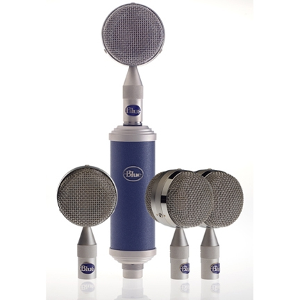 BLUE Bottle Rocket Mic Locker