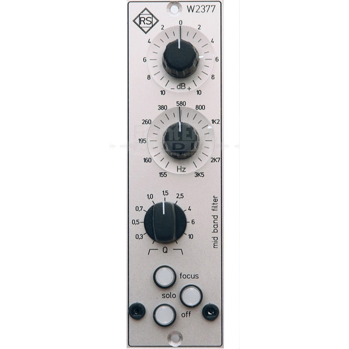 Roger Schult 500 Series EQ Filters