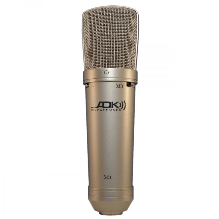 ADK S-51 Mk 5.2 Cardioid Condensor Microphone