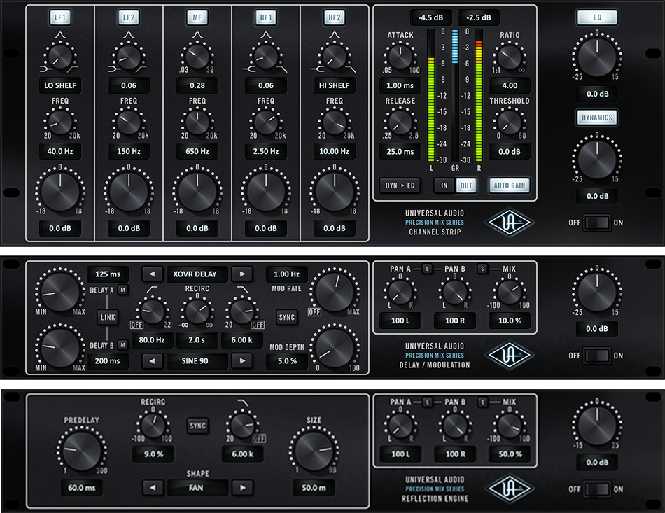 Precision Mix Rack Collection