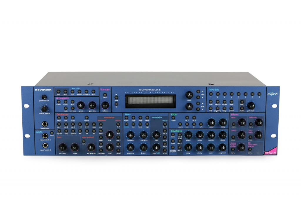 SuperNova II Rack