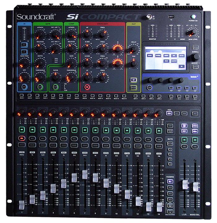 soundcraft si compact 16r digital mixer user review gearslutz. Black Bedroom Furniture Sets. Home Design Ideas