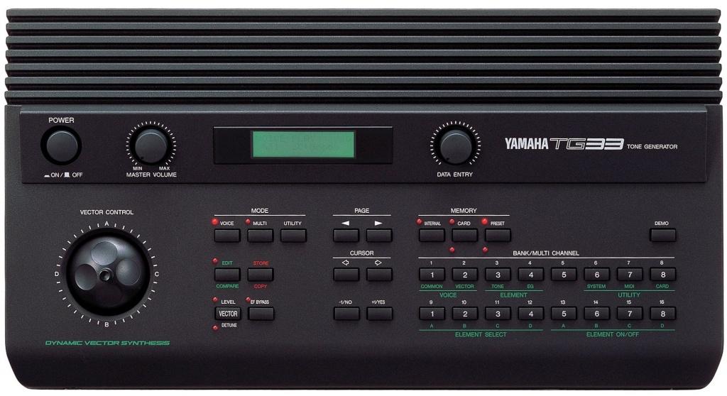 Yamaha TG-33