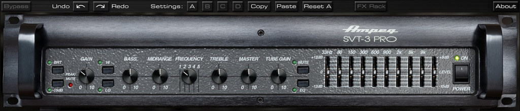 Ampeg SVT-3 PRO Bass Amplifier Plug-In