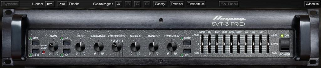Ampeg SVT-3 PRO Bass Amplifier Plug-In