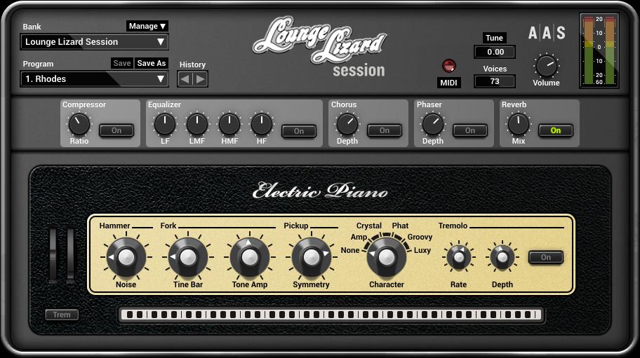 Lounge Lizard Session