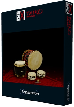 BFD Grooves for Taiko Percussion Groove Pack