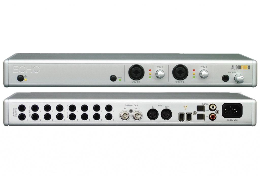 Echo Digital Audio AudioFire 8