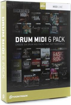 Drum MIDI 6 Pack