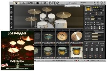 Platinum Samples Joe Barresi Evil Drums