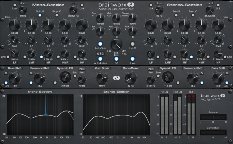 Brainworx bx_digital V3 Native Plugin