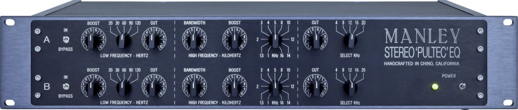 Enhanced Pultec EQP-1A - Stereo