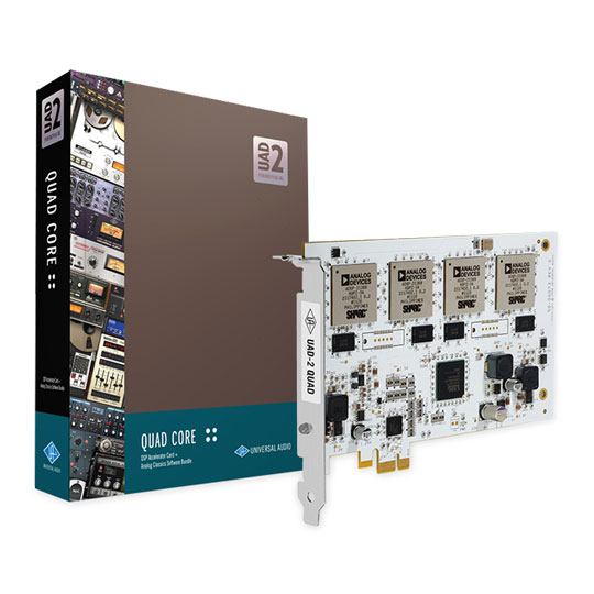 UAD-2 QUAD CORE Card