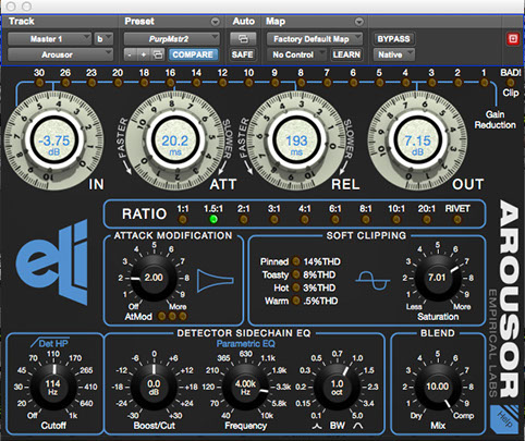 Empirical Labs Arousor Plugin