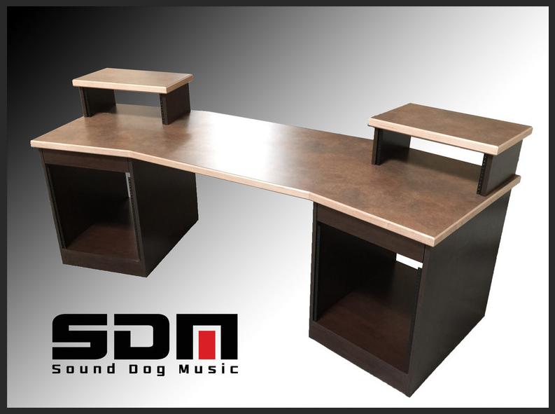 Sound Dog Music Producer Desk W Maple Edge