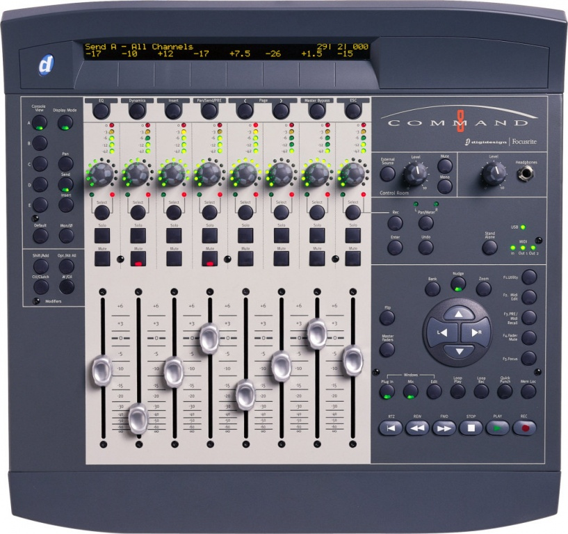 Sincere Digidesign 002 Console Musical Instruments & Gear