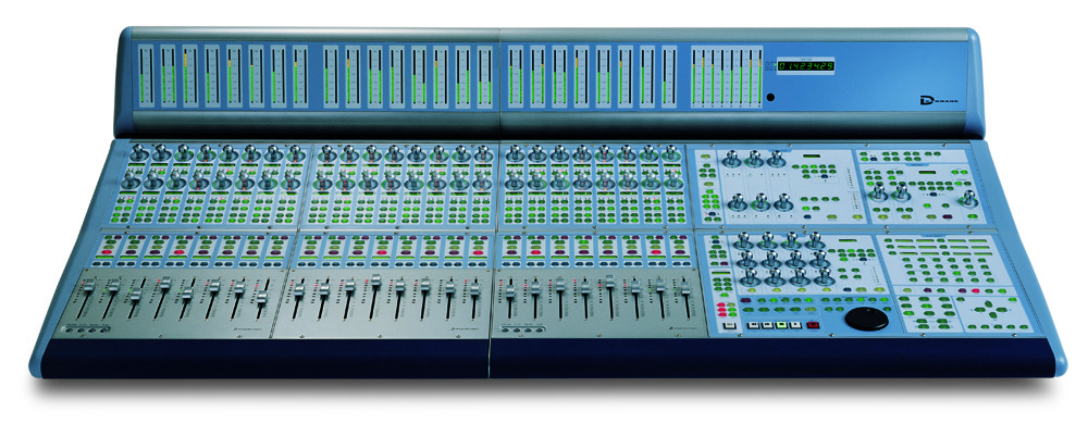 Avid ICON D-Command blue