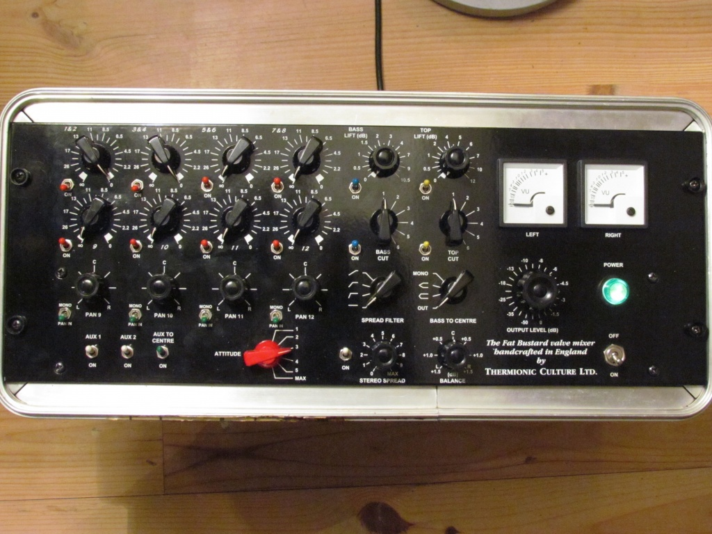 Thermionic Culture Fat Bustard Summing Mixer
