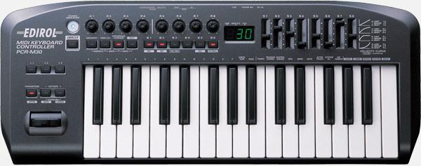 pcr-m30 midi keyboard controller