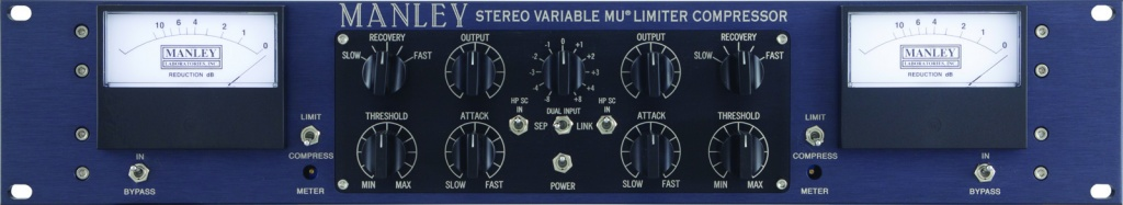 Stereo Variable Mu Limiter/Compressor