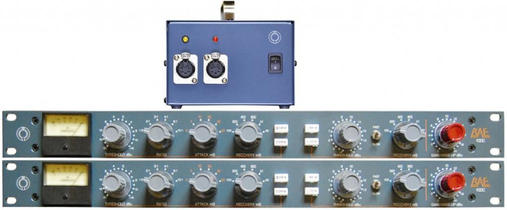 10DC Compressor/Limiter Pair with PSU