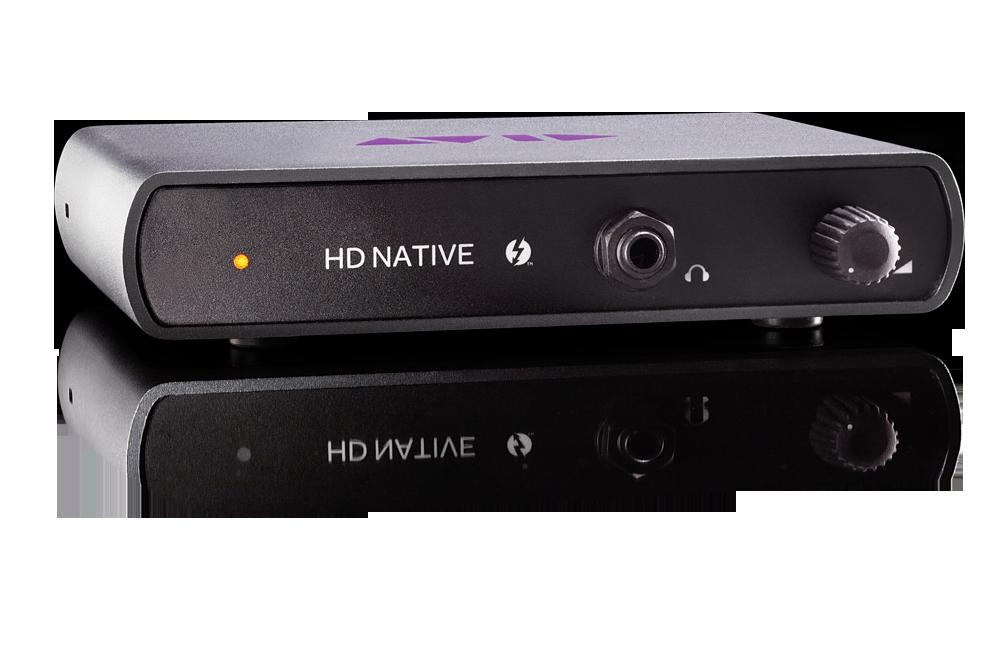 Avid HD Native