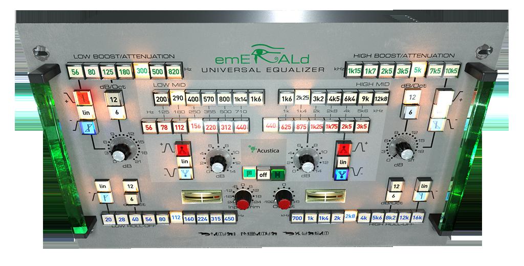 Acustica Audio Emerald Bundle