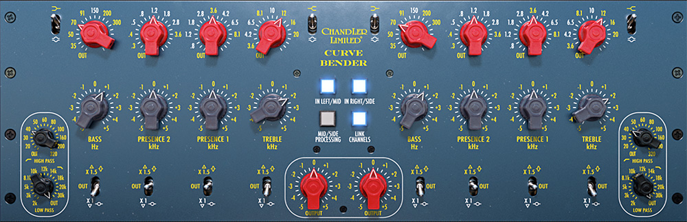 Chandler Limited Curve Bender Mastering EQ Plug-In