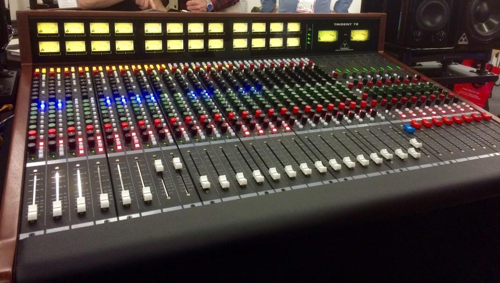 Trident Audio Developments 78 Analog Console