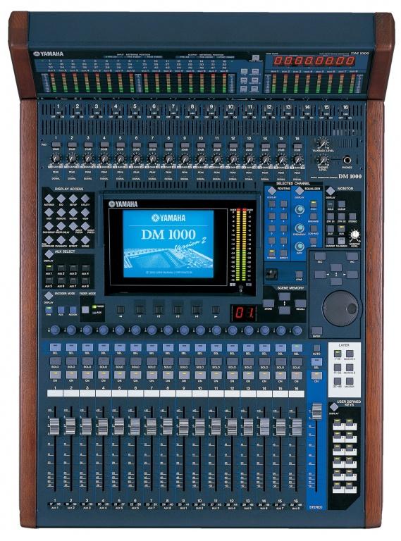 DM1000VCM Digital Mixer