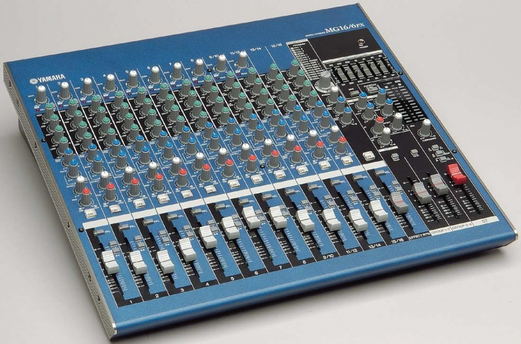 Yamaha mg16 6fx user review gearslutz pro audio community for Yamaha 16 channel mixer mg16 4
