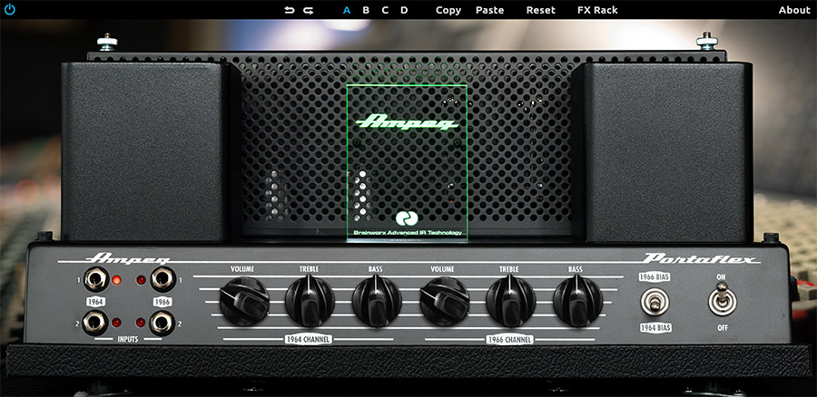 Ampeg B-15N Bass Amplifier Plug-In