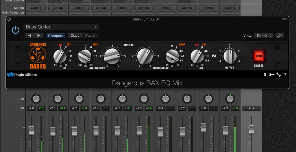 Bax EQ Native Plugin