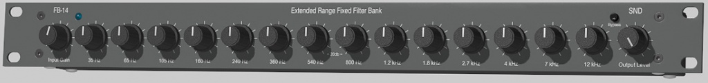 FB-14 Extended Range Fixed Filter Bank