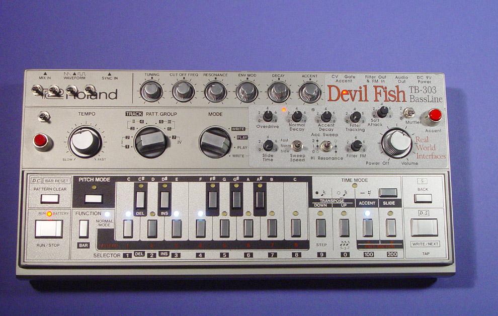 TB303 DevilFish Modification